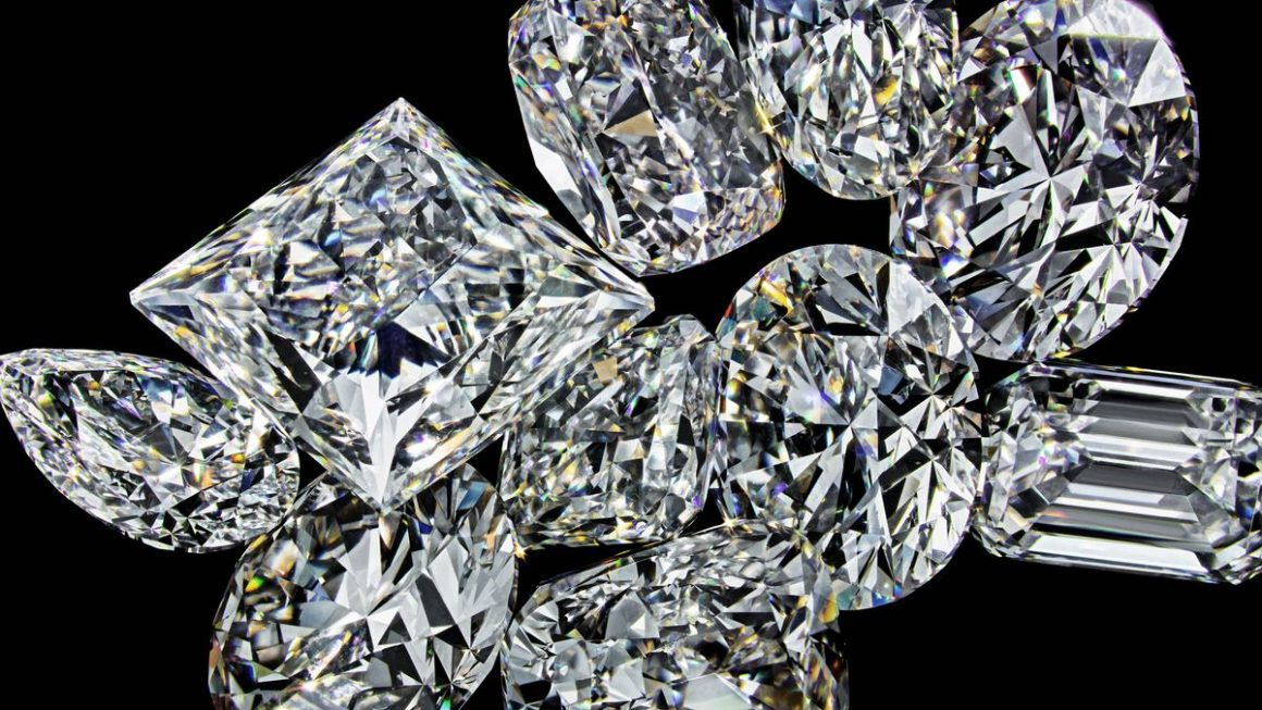 geniun diamonds
