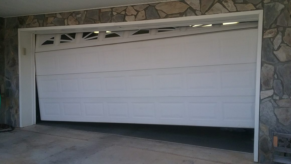 garage door Installed
